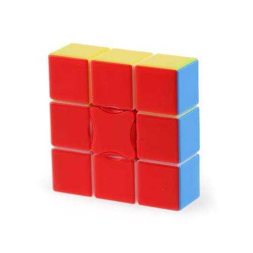 YJ 1x3x3 Stickerless Magic Cubeto na prawdę świetna kostka typu floppy. Nie należy ona do najtrudniejszych kostek