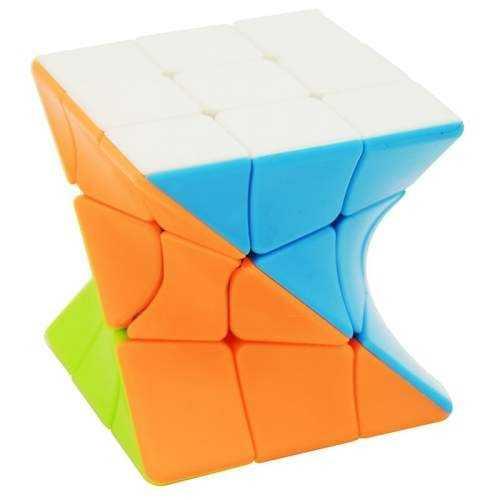 Takiej kostki jeszcze nie widziałeś i nie miałeś jej w swoich rękach!Lefun 3x3x3 Twisty Magic Cube Stickerlessto kostka o wspaniałym kształcie