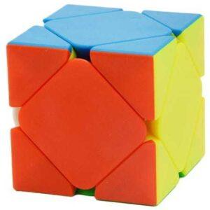 YuXin Black Kylin Skewb Cube Stickerlessto kostka o znanym już kształcie skweb. Kostka wykonana jest z wysokiej jakości kolorowego tworzywa