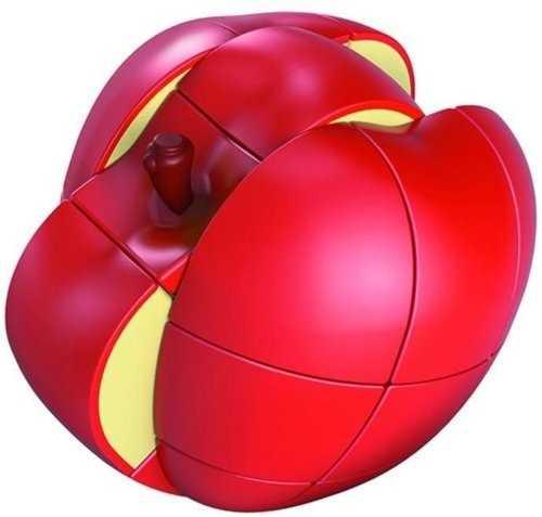 Sprawdź się! Łamigłówka jabłko składa się z obracających w każdą stronę elementów. Poprawia motorykę