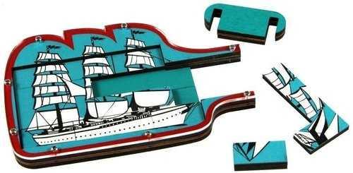 Ship in a Bottle - Statek w butelce. Lubisz logikę