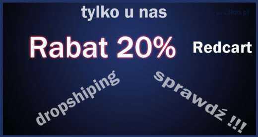 Rabat Redcart 20%, kupon rabatowy