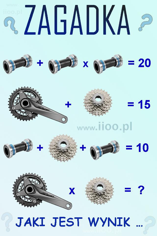 ciekawa zagadka rowerowa