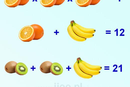 zagadka owocowa 3