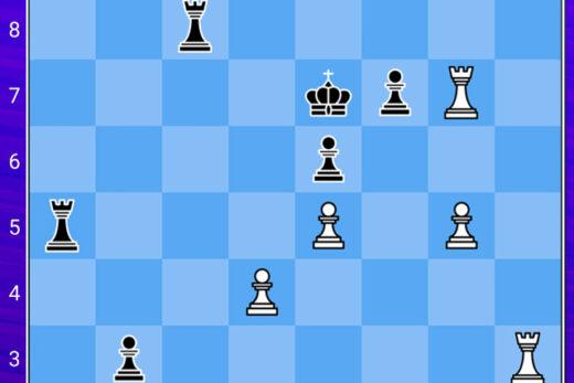 zagadka szachowa, dwuchodówka