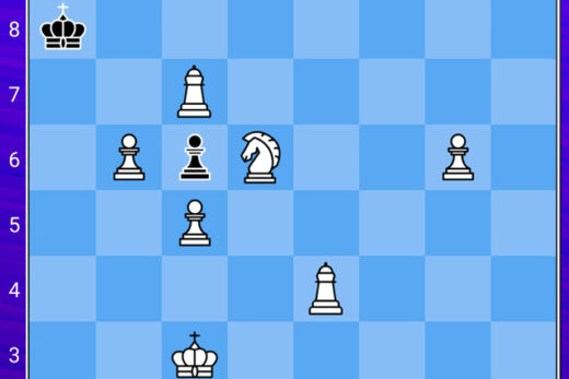 zagadka logiczna, dwuchodówka - zagadka szachowa,,ciekawa zagadka na logikę, jaki ruch daje mat